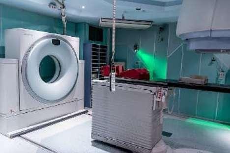 Ein modernes Gerät für Strahlentherapie